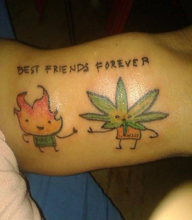 Weedwednesday The Best M*R*J**N* Inspired Tattoos On The Ideas And Designs