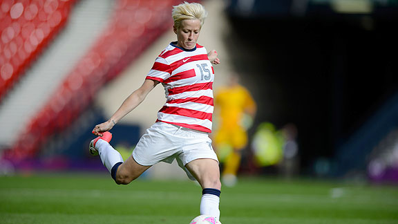 Women S Soccer Star Megan Rapinoe On Coming Out And The Ideas And Designs