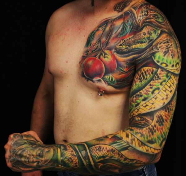 Aiz Tattoo Gallery 3D Snakes Tattoo On Hands Ideas And Designs