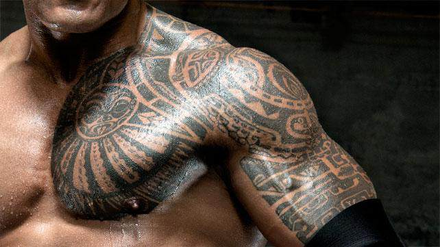 The Coolest Tattoos In Wwe History Wwe Bulletin Ideas And Designs