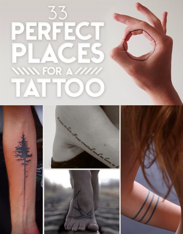 33 Perfect Places For A Tattoo The Idea King Ideas And Designs
