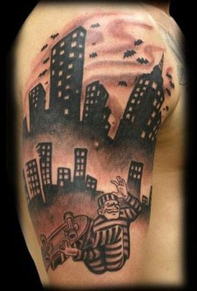 Sports Tattoos D*Mn Cool Pictures Ideas And Designs