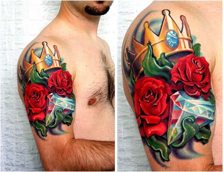 Trend Tattoo Styles Rose Tattoo Spesific Colors Meaning Ideas And Designs