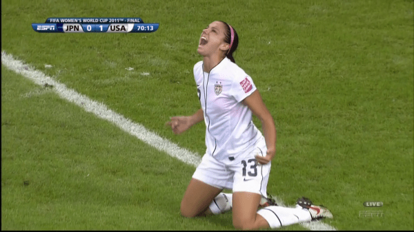 Angie Varona *Ch*N Alex Morgan In Women World Cup 2011 Ideas And Designs