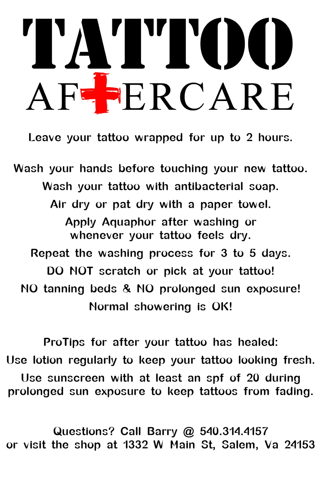 Denemedeneme Tattoo Aftercare Ideas And Designs