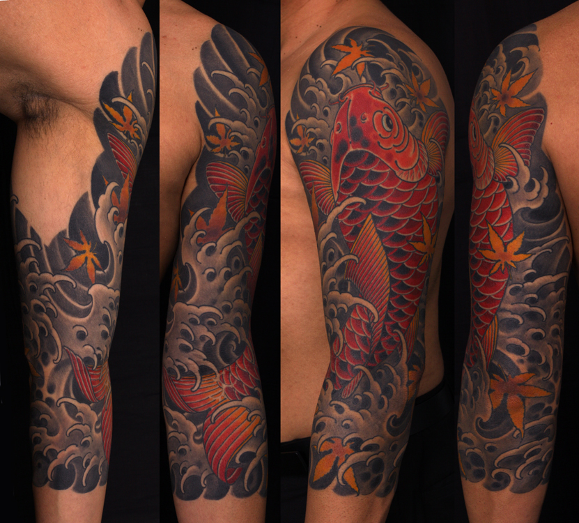 1000 Ideas About Koi Tattoo Sleeve On Pinterest Ideas And Designs