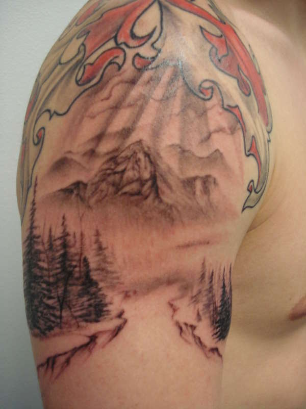 Mountain Tattoo Ideas And Designs