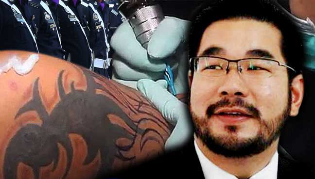 Can Police Have Religious Tattoos Asks Former Police Ideas And Designs