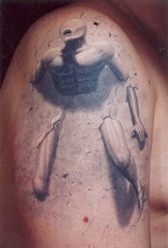 30 Mind Blowing 3D Tattoo Designs Ideas And Designs