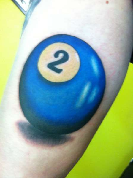 Pool Ball Tattoo Ideas And Designs