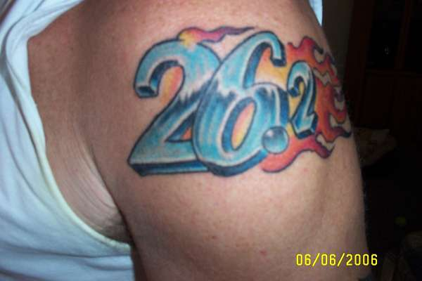 Marathon 26 2 Tattoo Ideas And Designs