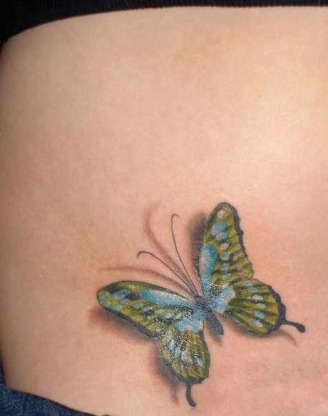 Small Butterfly Tattoos Great Tattoos Ideas And Designs