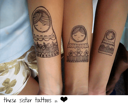 25 Lovely Sister Tattoos Slodive Ideas And Designs