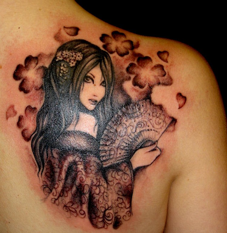 For Me Ns For Girls 8 Geisha Tattoo Ideas And Designs