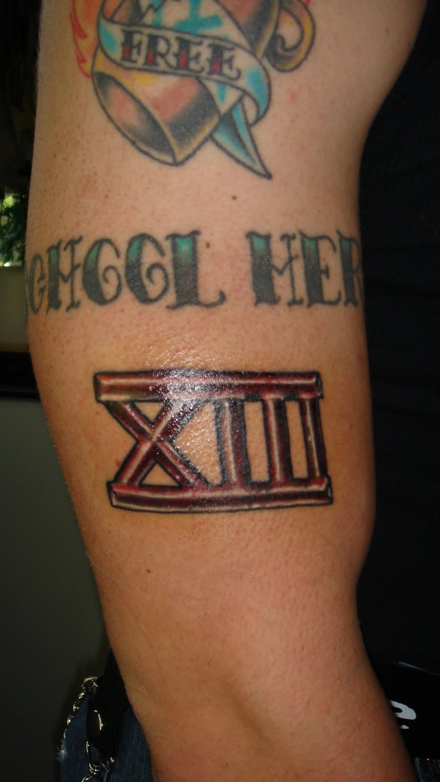 Roman Numeral 13 Tattoo Meaning Ideas And Designs
