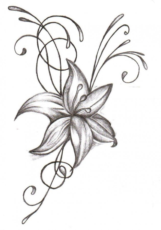 Flower Designs For Tattoos Big L Ideas And Designs