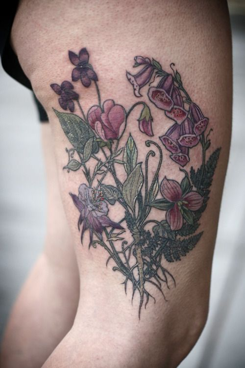 Bramble Tattoo By Alice Kendall Ideas And Designs