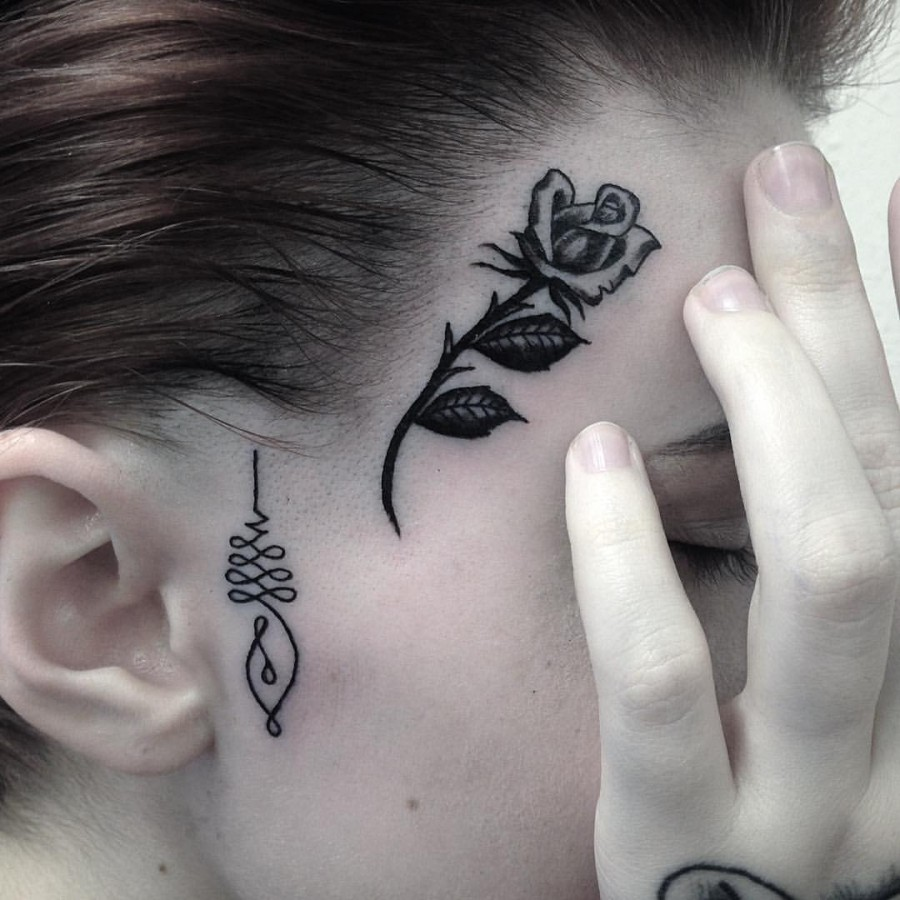 43 Face Tattoos That Are Surprisingly Awesome Page 4 Of Ideas And Designs