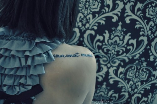 Across The Universe Tattoo On Shoulder Ideas And Designs
