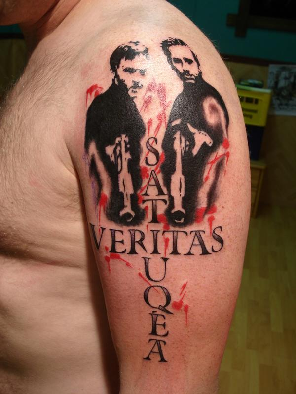 Beautiful Veritasaequita Tattoo Design For Arm By Ideas And Designs