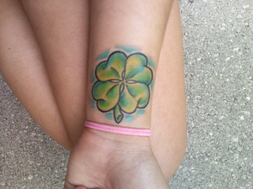 Four Leaf Clover Tattoo Tattoo Pictures Collection Ideas And Designs