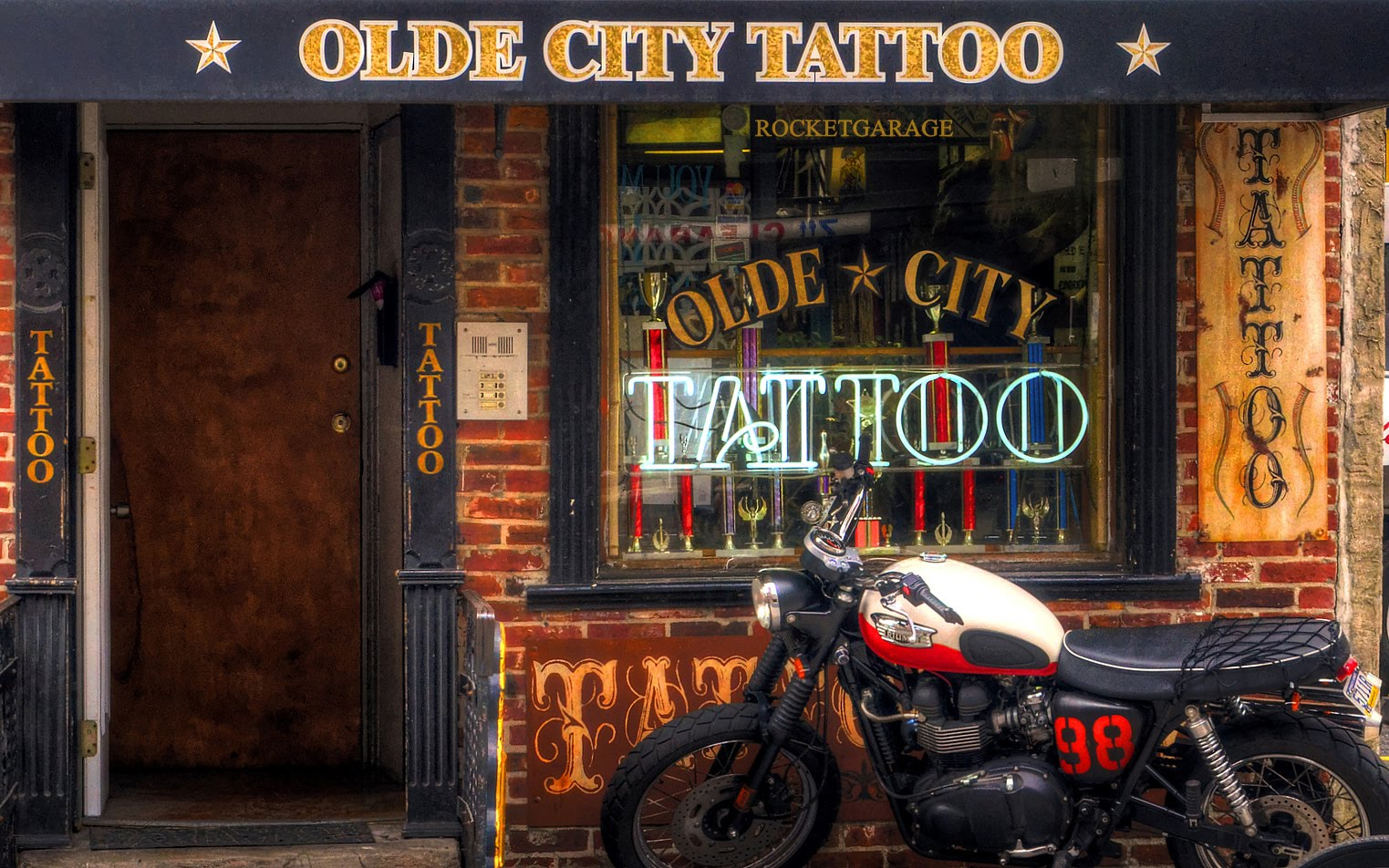 Tattoo Shop Rocketgarage Cafe Racer Magazine Ideas And Designs
