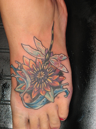 Tattoos Photo Gallery Cool And Beautiful 3D Dragonfly Tattoo Ideas And Designs