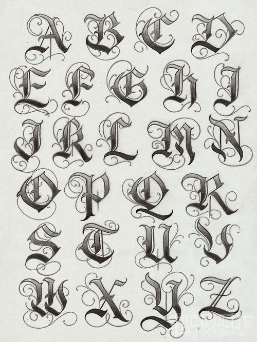 Tattoo Lettering Designer Tattoo Fonts For Tattoo Ideas And Designs