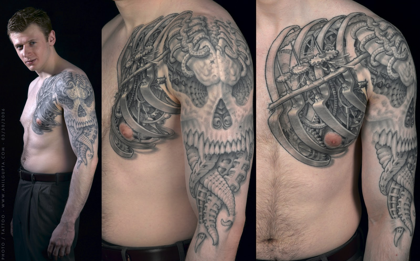 Gombal Tattoo Designs Biomechanical Tattoos Designs Ideas And Designs