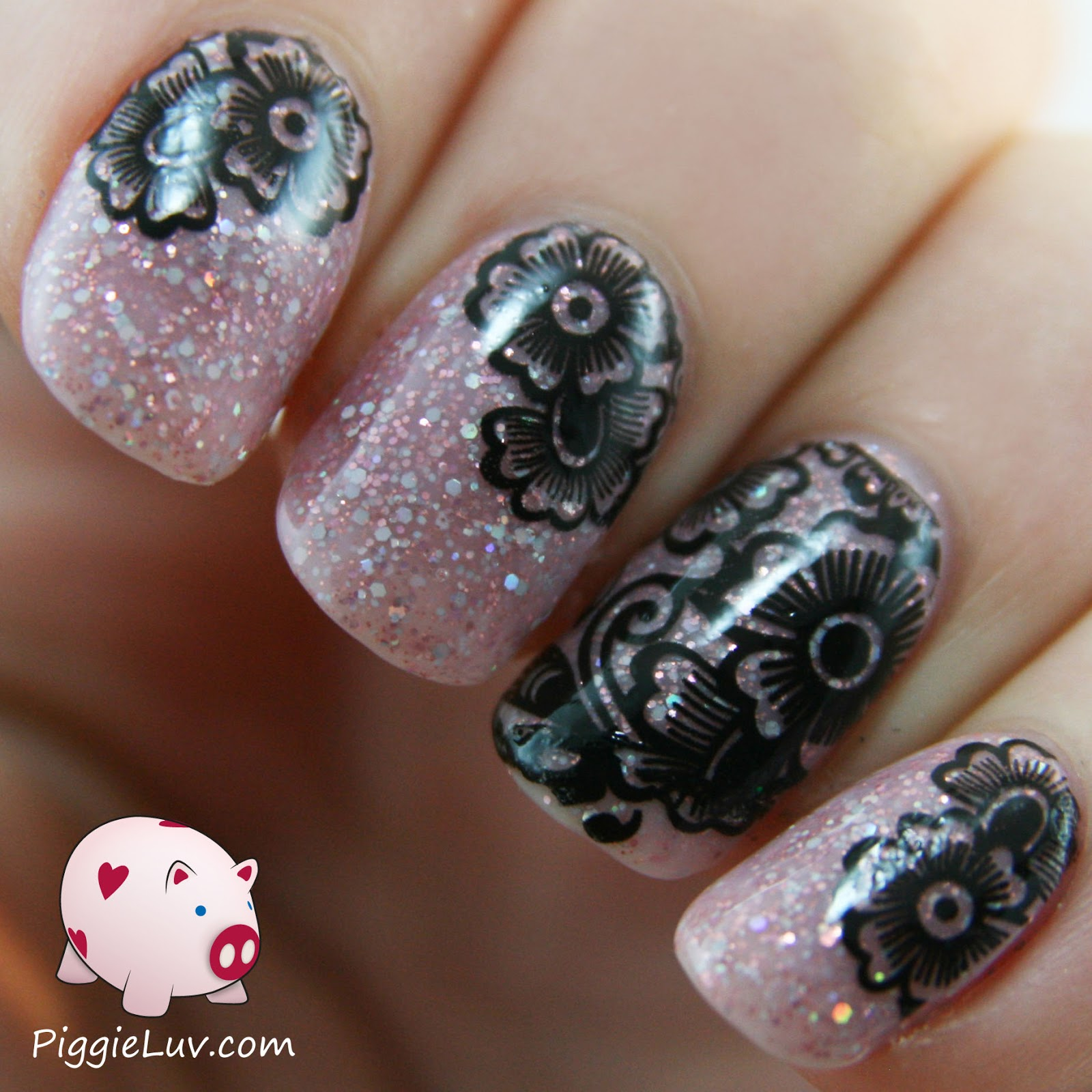 Piggieluv Easy Nail Art With Kiss Nail Tattoos Ideas And Designs