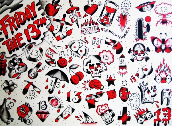 Tattoosday A Tattoo Blog The Great Friday The 13Th Ideas And Designs