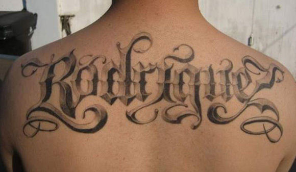 50 Excellent Tattoo Lettering Examples Ideas And Designs