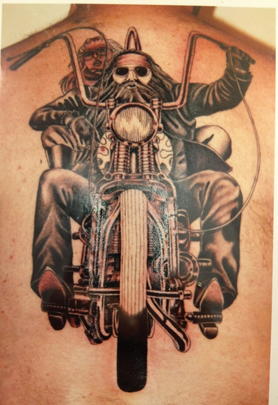 Biker Motorcycle Tattoos Ideas And Designs