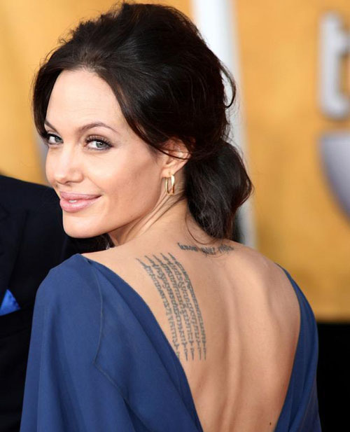 Actresses With Tattoos Female Actress Tattoos Ideas And Designs