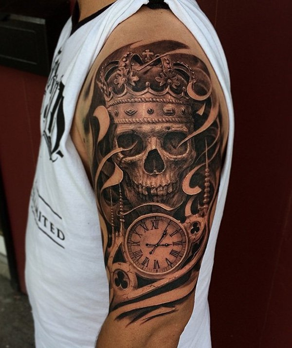 50 Awesome Skull Tattoo Designs The Xerxes Ideas And Designs