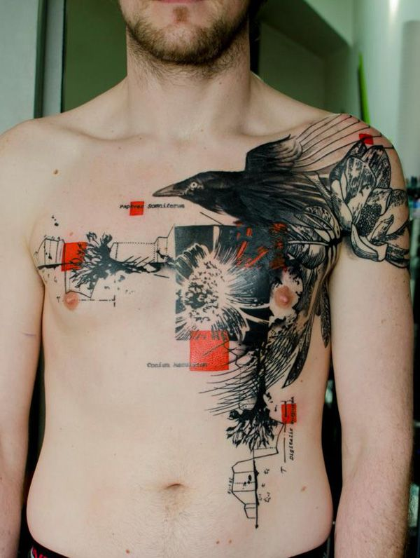 50 Awesome Chest Tattoo Designs For Men Ideas And Designs