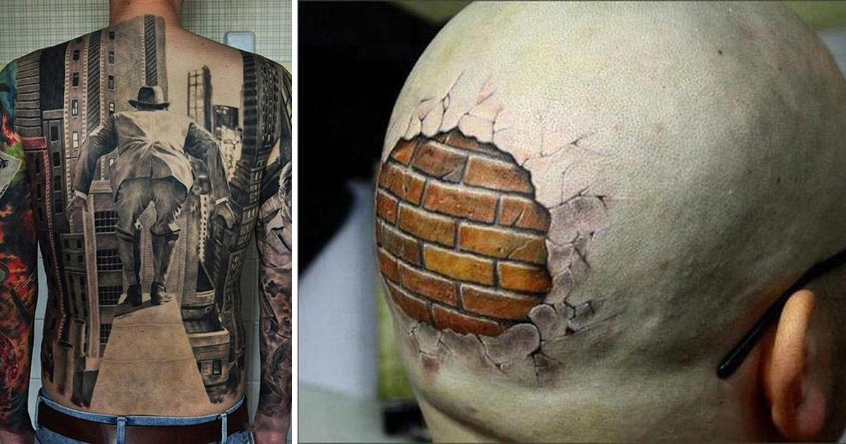 21 3D Tattoos That Will Leave You Speechless Tattoo Ideas And Designs