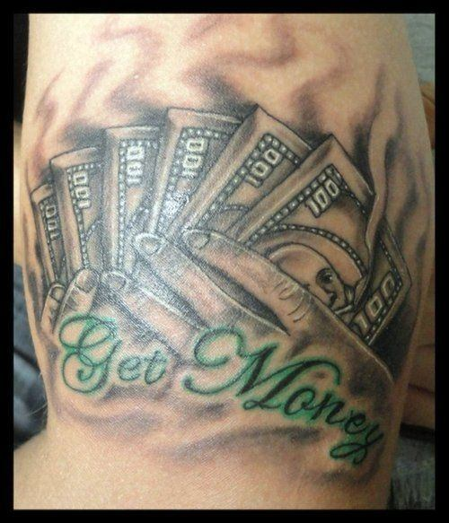 Money Tattoos For Men Dollar Tattoo Ideas For Guys Ideas And Designs