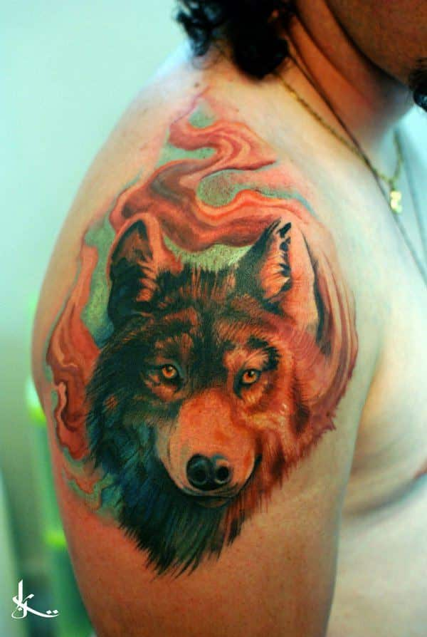 Wolf Tattoos For Men Ideas And Inspiration For Guys Ideas And Designs