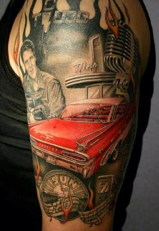 Car Tattoos For Men Ideas And Inspiration For Guys Ideas And Designs