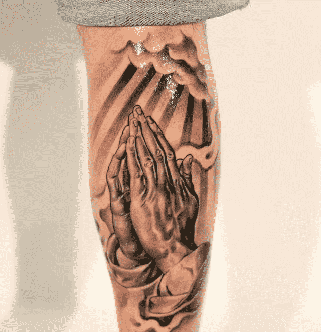 Praying Hands Tattoos For Men Ideas And Designs For Guys Ideas And Designs