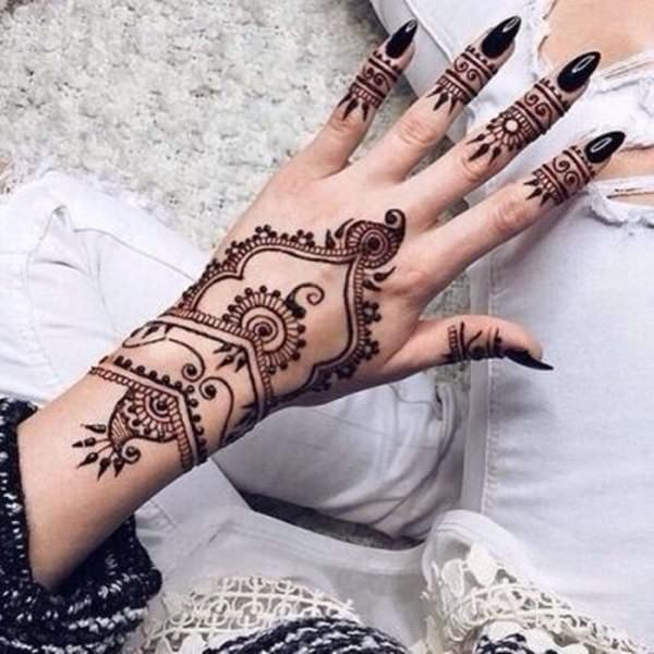 44 Henna Body Tattoos To Transform Your Figure Into Art Ideas And Designs