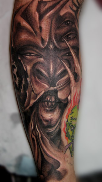Brian Murphy Freehand Cover Up Ideas And Designs