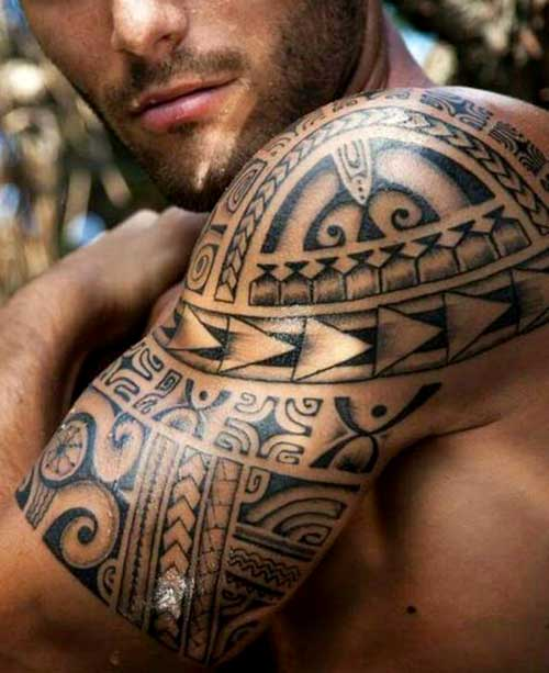71 Dramatic Shoulder Tattoos For Men Ideas And Designs