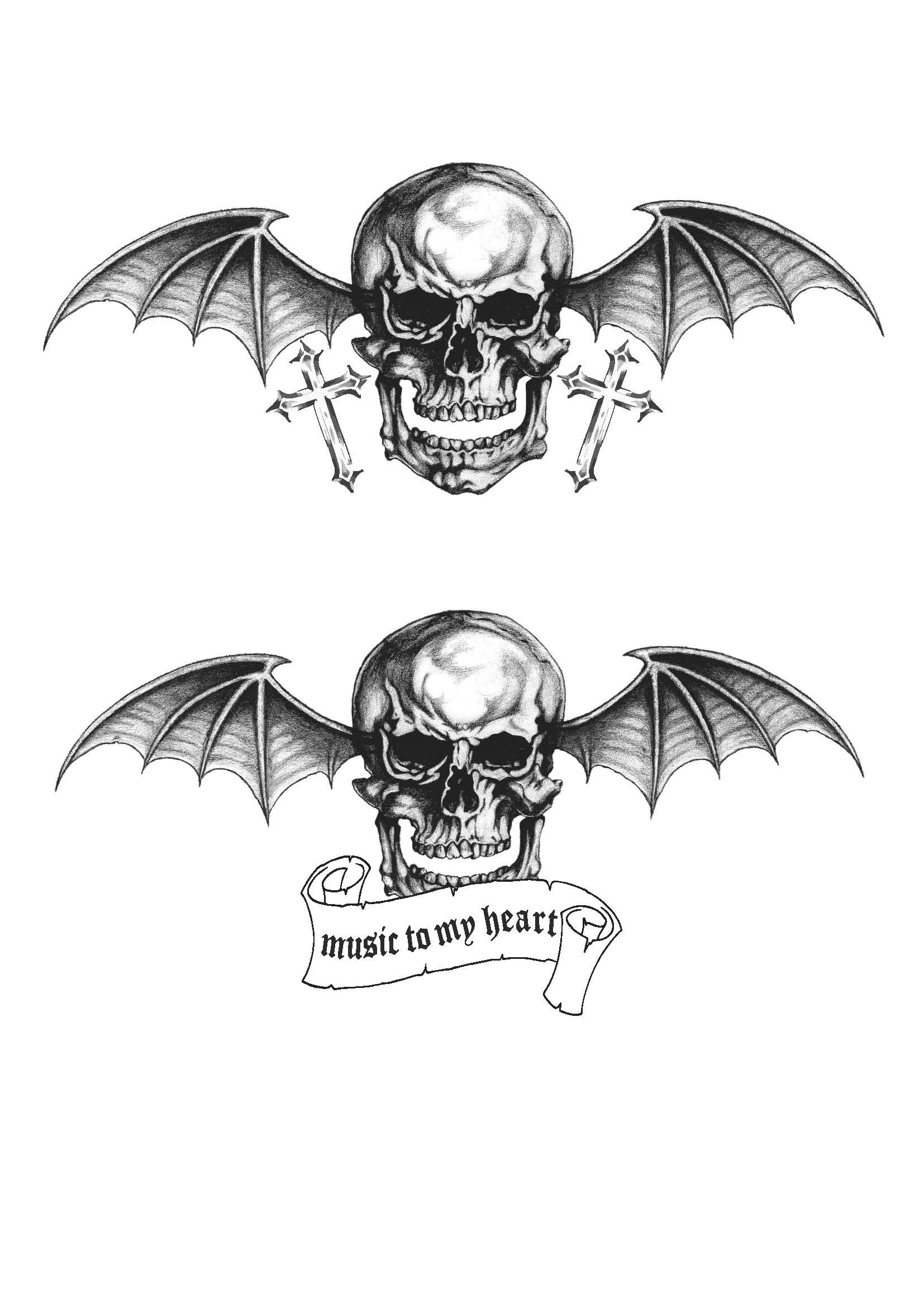 Avenged Sevenfold Deathbat Wallpaper 75 Images Ideas And Designs