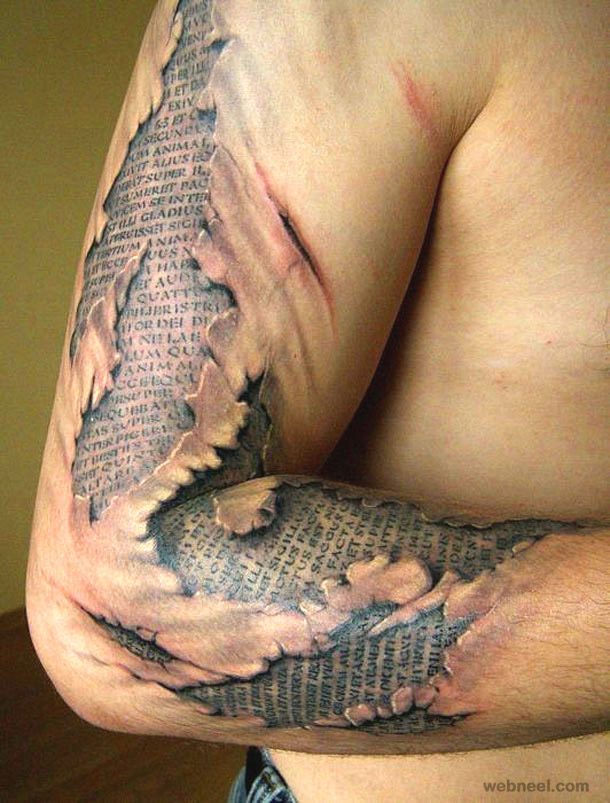 3D Tattoo Design Man 7 Ideas And Designs