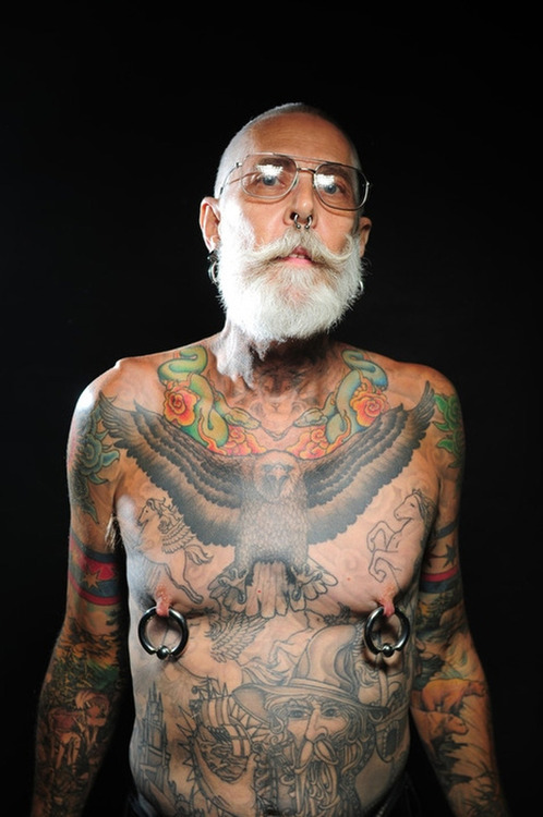 Old People With Tattoos Do Tattoos Still Look Cool As We Age Ideas And Designs