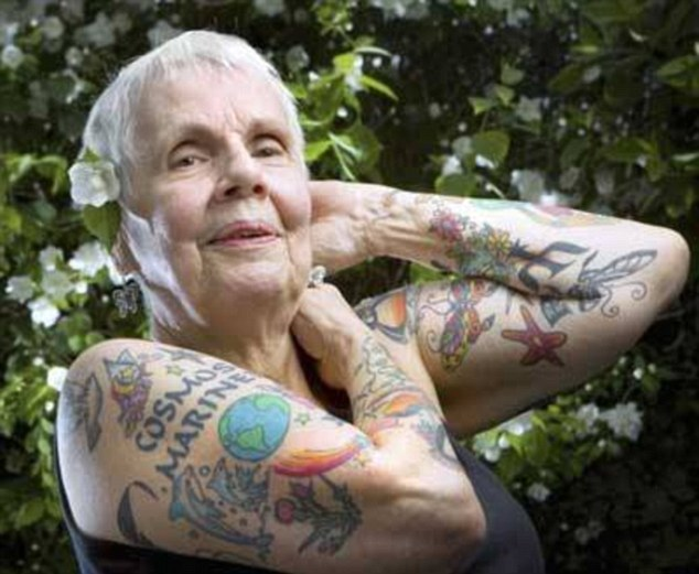 Old Age Hipsters Show What Tattoos Look Like On Their Ideas And Designs