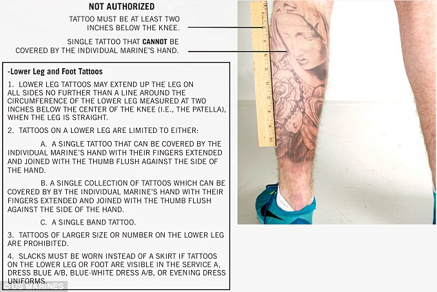 Marines Loosen Up Strict Policy Allowing Unlimited Tattoos Ideas And Designs