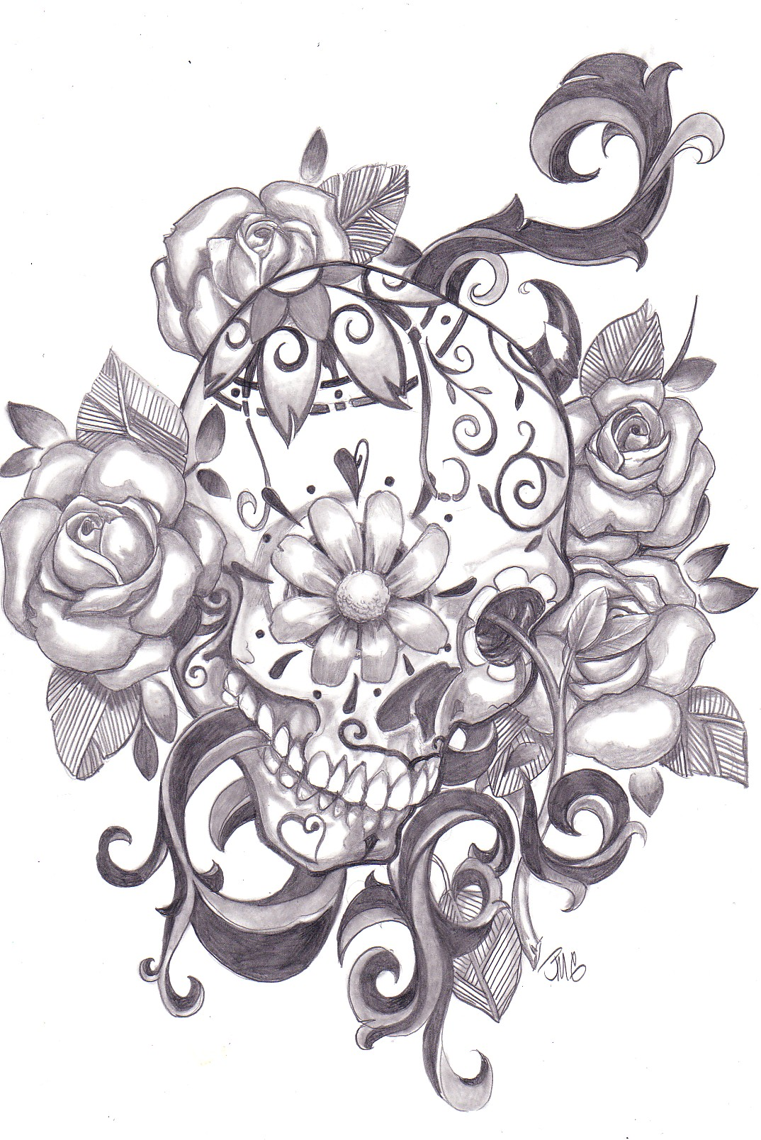 Sugar Skull Designs Inspiration From Mexican Folk Art Ideas And Designs